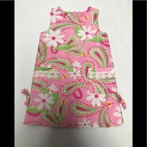 Lilly Pulitzer Toddler Girl pink dress size 4